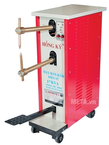 Máy hàn bấm Hồng Ký HK-HB15KB có bánh xe di chuyển