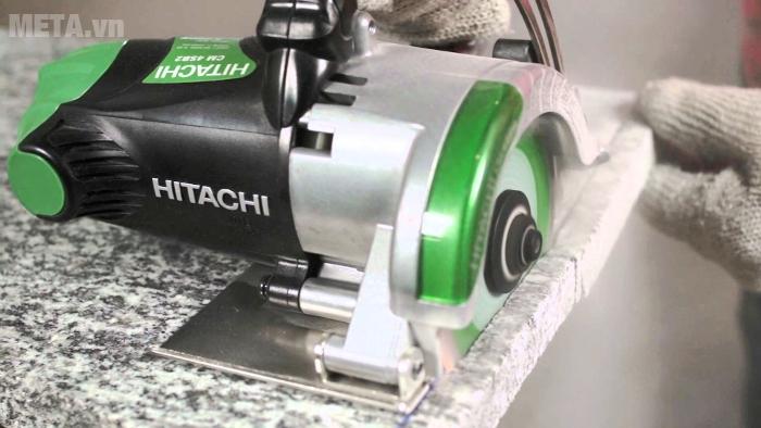 Cắt đá hoa dễ dàng với máy cắt bê tông Hitachi CM4SB2