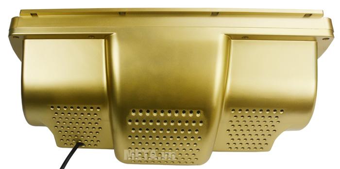 Mặt sau của đèn sưởi nhà tắm điều khiển Heizen HE3BR có nhiều lỗ thoát nhiệt