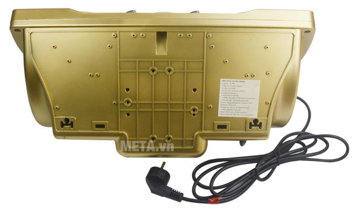 Mặt sau của đèn sưởi nhà tắm điều khiển Heizen HE3BR có dây điện dài 3m