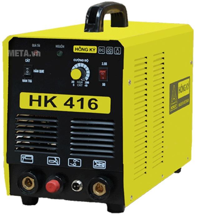 Máy hàn 3 chức năng que - Tig - plasma Hồng Ký HK 416