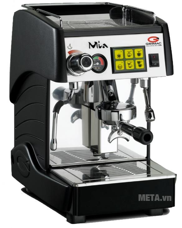 Máy pha cà phê Grimac Mia ELE có công suất phục vụ/giờ: 80 tách (tách 30cc)