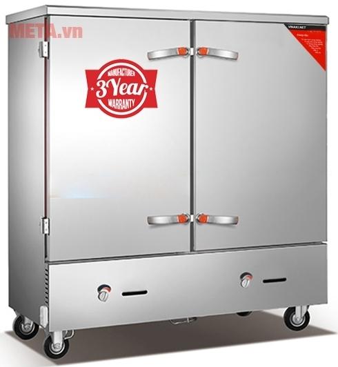 Tủ nấu cơm công nghiệp 24 khay dùng gas TCD-24