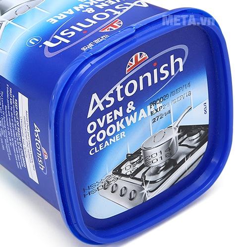 Chất tẩy rửa dụng cụ nhà bếp Astonish 500g được đóng gói chắc chắn.