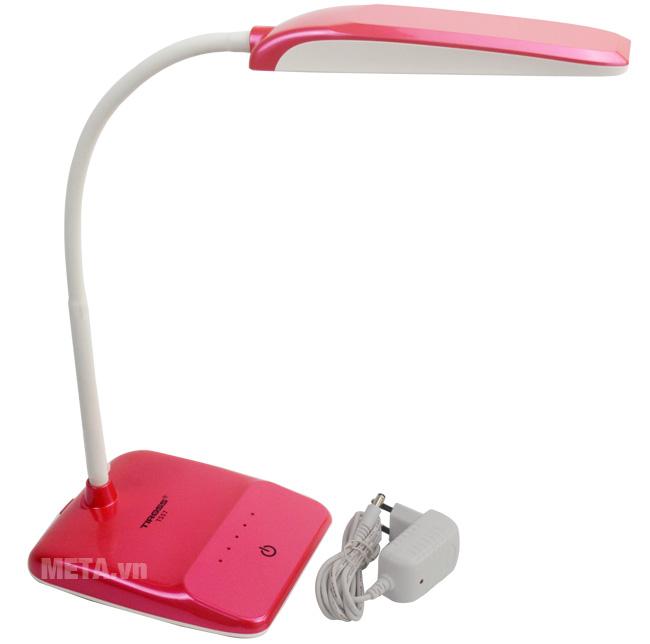 Đèn bàn Led Tiross TS-57 màu hồng