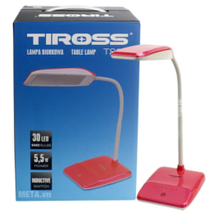 Đèn bàn Led Tiross TS-57 có hộp đựng bảo quản đèn.