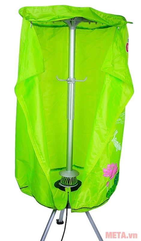 Máy sấy quần áo Sunhouse SHD2610 có bao áo chịu nhiệt, cho độ bền cao.