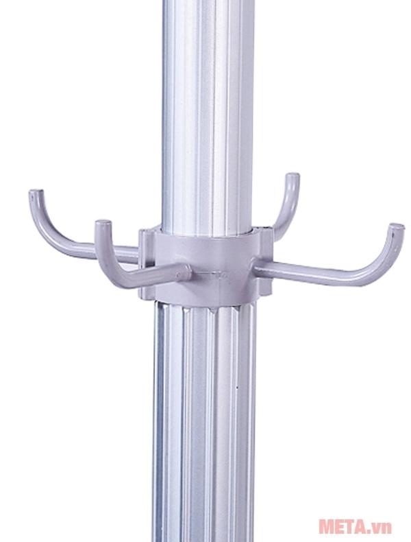 Máy sấy quần áo Sunhouse SHD2610 có ống nối chắc chắn.