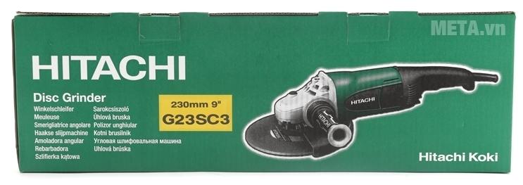 Hộp đựng của máy mài góc Hitachi G23SC3