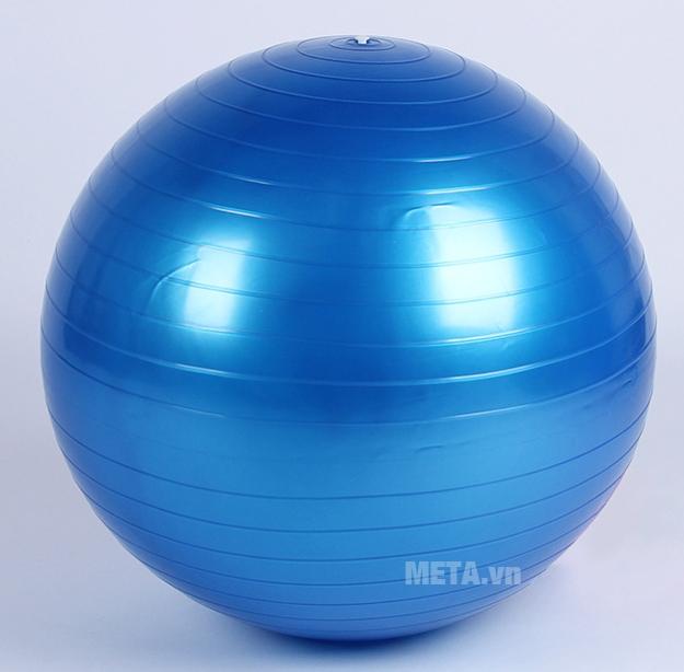 Bóng tập Yoga cao cấp trơn màu xanh