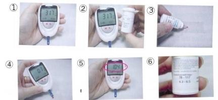 Các bước kiểm tra glucose
