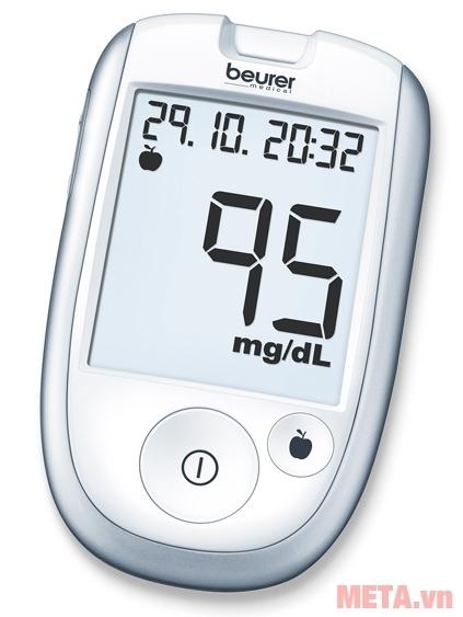 Máy đo đường huyết Beurer GL42 giúp bạn kiểm tra lượng đường trong máu một cách chính xác.