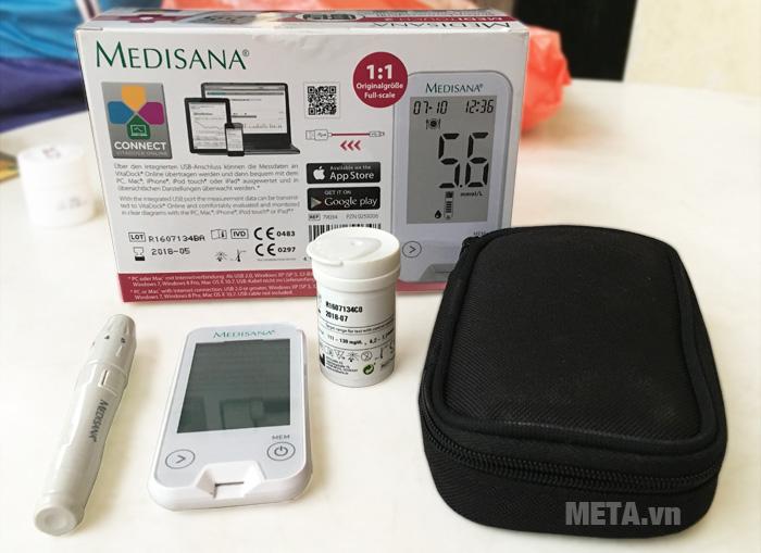 Máy đo đường huyết Medisana Meditouch 2 dùng cho cá nhân đo tại nhà.