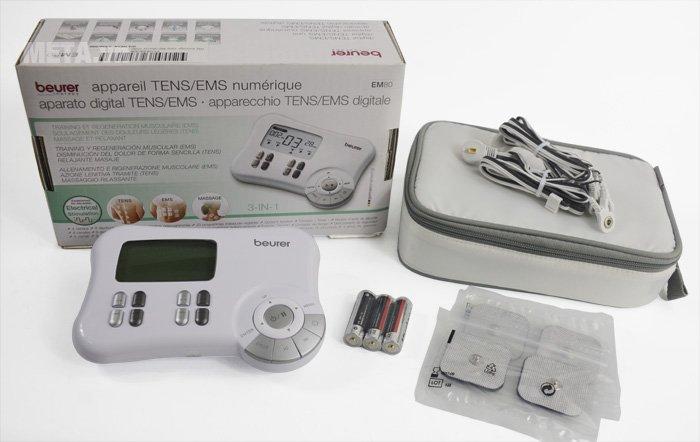 Bộ sản phẩm máy massage xung điện Beurer EM80