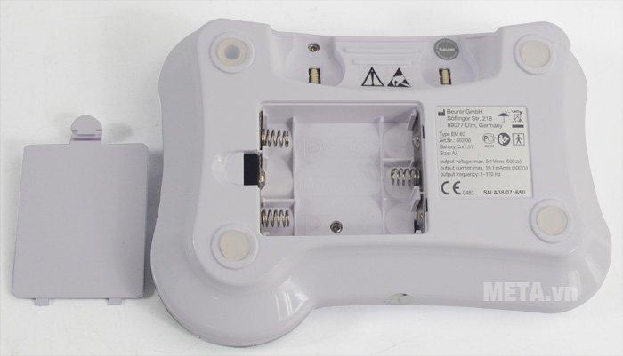 Máy massage xung điện Beurer EM80 dùng pin