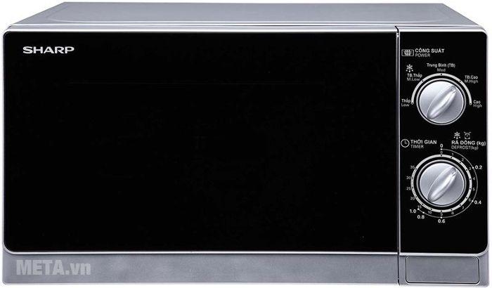 Lò vi sóng Sharp R-203VN-M dùng cho gia đình