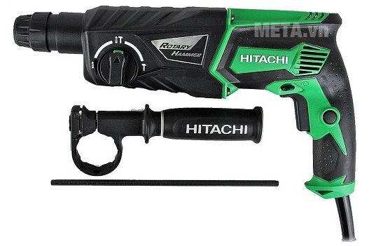 Máy khoan động lực Hitachi DH26PC có chế độ vừa khoan vừa búa vô cùng mạnh mẽ.