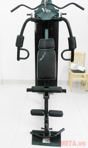 Giàn tạ đa năng Vifa Sport 610250 có ghế ngồi và tựa lưng êm ái