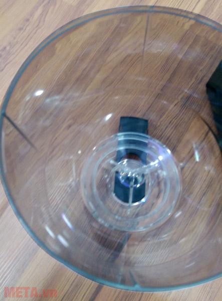 Máy xay cà phê Cunill Space Inox có sức chứa 2kg hạt cà phê