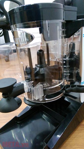 Máy xay cà phê Cunill Space Inox có chức năng bảo vệ quá nhiệt cho động cơ
