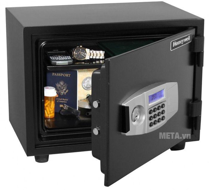 Két bạc Honeywell 2112 giúp lưu trữ tài sản có giá trị được an toàn