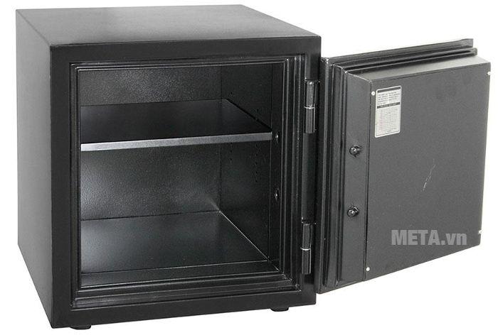 Két sắt Honeywell 2115 thiết kế khoang trong có 2 ngăn