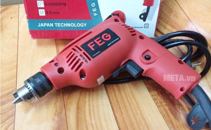 Máy khoan đầu cặp FEG EG-506A dành cho gia đình