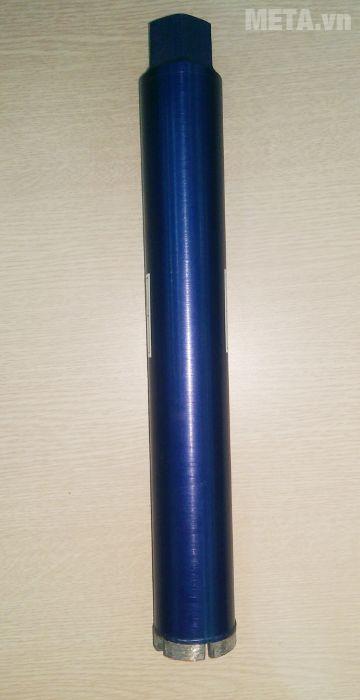 Mũi khoan rút lõi bê tông có thể khoan bê tông cốt thép, khoan tốt trên nền bê tông, nhựa đường.