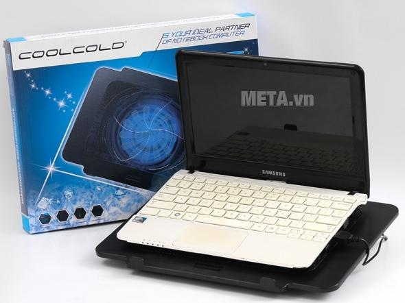 Đế tản nhiệt Cool Cold loại K16 phù hợp với dòng laptop từ 14 inches