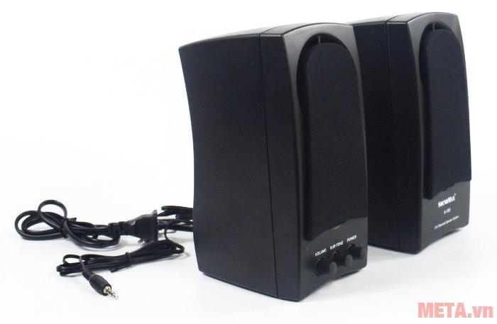 Loa vi tính SoundMax A150 cho âm thanh lớn, trong trẻo