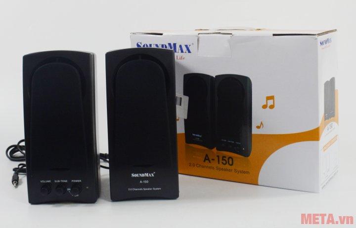 Loa vi tính SoundMax A150 hệ thống kênh 2.0