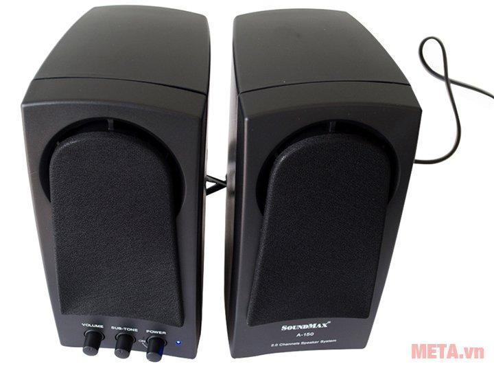 Loa vi tính SoundMax A150 gồm 2 loa