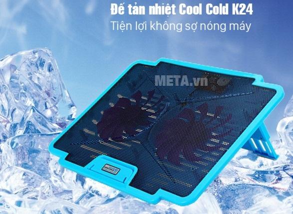 Đế tản nhiệt Cool Cold™- K24 thiết kế đầy ấn tượng