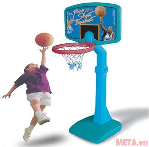 Trụ bóng rổ thiếu nhi L506 giúp bé phát triển chiều cao tối ưu