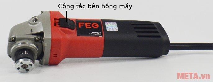 Máy mài góc FEG-911A có cò máy bên hông