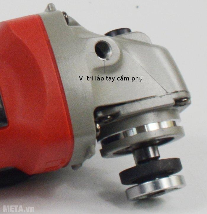 Máy mài góc FEG-911A sở hữu đầu máy rắn chắc
