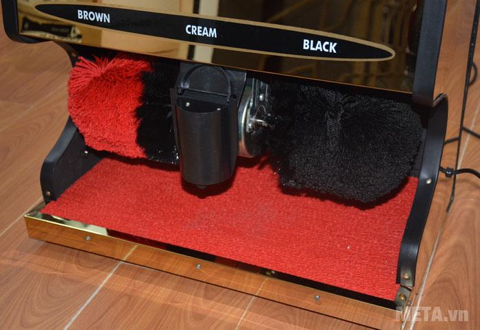 Máy đánh giầy Shiny SHN-G1 có hộp xi có dung tích 150ml