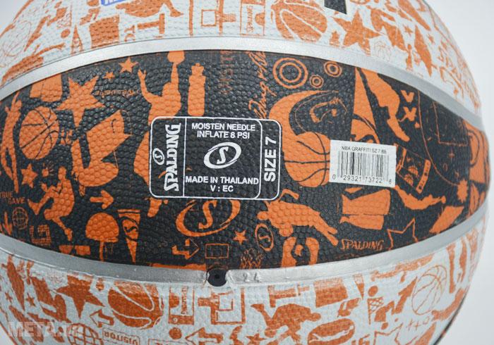 Bóng rổ Spalding Graffiti (73-722Z) có size số 7