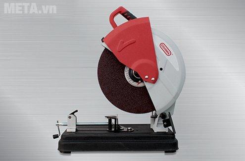 Máy cắt sắt Oshima MOD.OS1 dạng để bàn giúp cắt vật liệu chuẩn xác hơn.