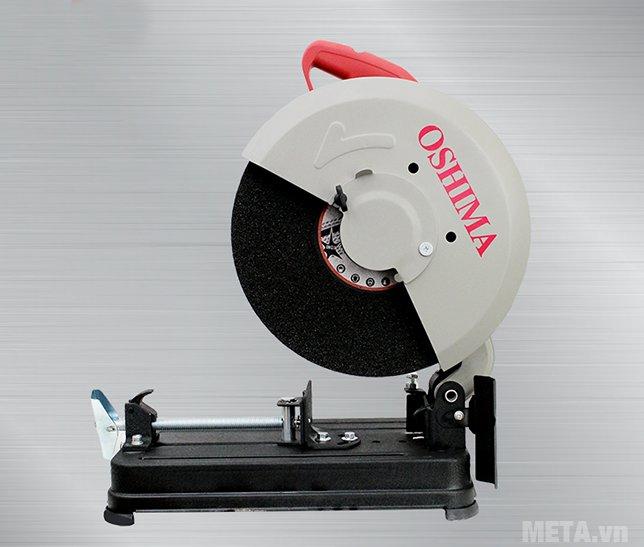 Máy cắt sắt Oshima MOD.OS2 thiết kế đế máy có 4 chân đế vững chắc