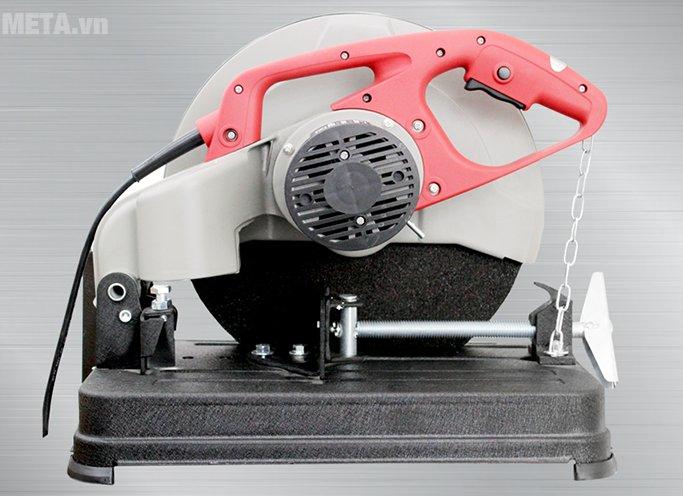 Máy cắt sắt Oshima MOD.OS2 thiết kế nhiều khe tản nhiệt ở động cơ