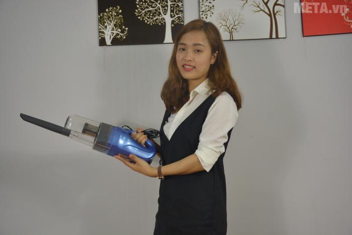 Máy hút bụi cầm tay Shimono SVC1016-C hút mọi ngóc ngách