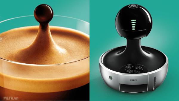 Máy pha cà phê Nescafe Dolce Gusto - MiniMe cho ra Espresso Intenso chưa đến 1 phút