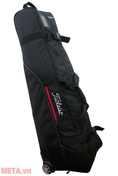 Túi golf Titleist ESSENTIALS TRAVEL COVER TA6ESTC-0 thiêt kế quai xách chắc chắn.