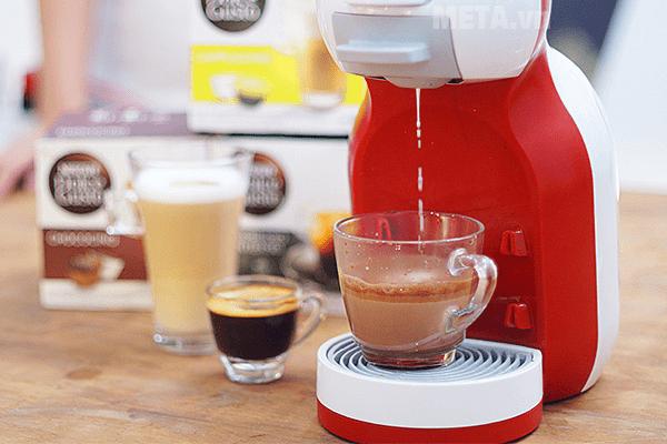Máy pha cà phê viên nén Nescafe Dolce Gusto - MiniMe khả năng tạo bọt tự động