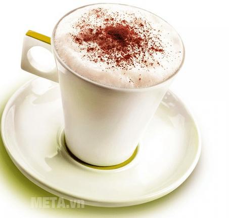 Làm ra chưa đến 1 phút với máy pha cà phê viên nén Nescafe Dolce Gusto