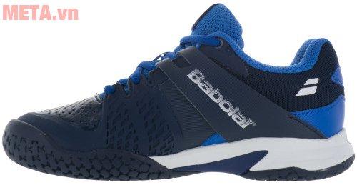 Giày tennis trẻ em Babolat Propulse All Court 33S17478-102 màu xanh trắng