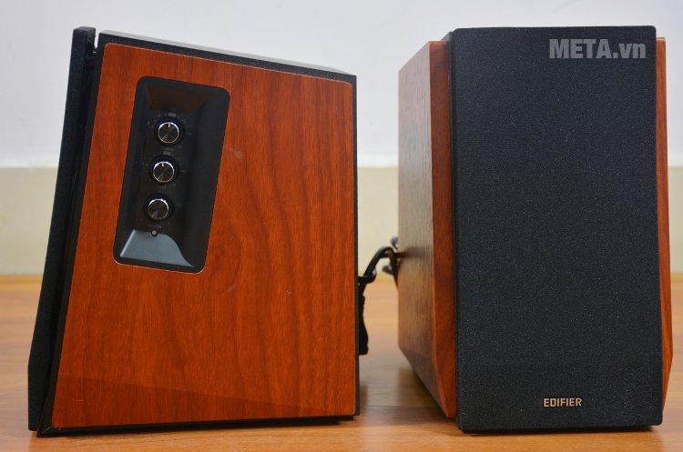 Loa Edifier R1700BT có thùng loa bằng gỗ
