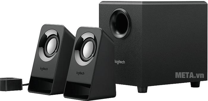 Loa vi tính Logitech Z213 mang đến âm thanh chân thực nhất cùng 2 loa vệ tinh và 1 loa Sub