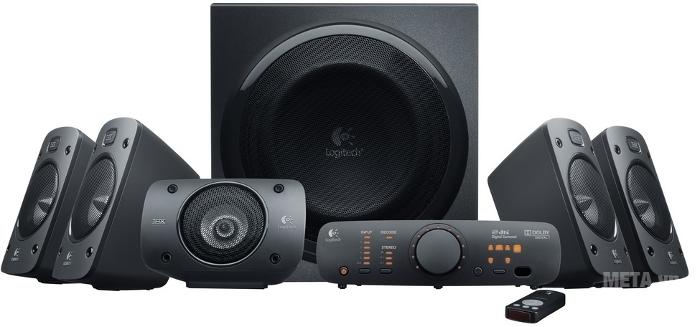 Bộ 6 loa Logitech Surround Sound Speakers Z906 thu phục người nghe